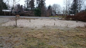 Her har grillen i Klitgård ligget, indtil den brændte i jubi 2013