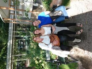 Min søn Robert og svigerdatter Julie, her er vi i Tivoli, KBH.