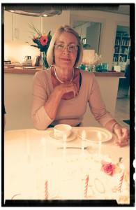 Min mors 70 års fødselsdag
