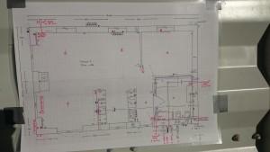 Lave alle tekniske tegninger til kommune til byggetilladelse, til håndværkere samt eget brug.