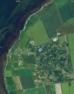 Her Klitgård sommerhusområde. Der er vist omkring 300 huse..